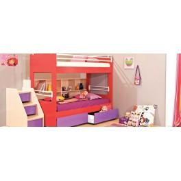 Four Angels παιδικό δωμάτιο με κουκέτα & διάδρομο