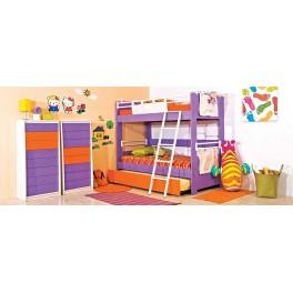 Four Angels παιδικό δωμάτιο με κουκέτα