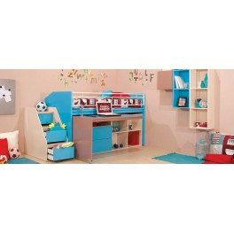 Four Angels Kids Room Kinetic Bunk Bed & Side Steps