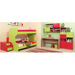 Four Angels Kids Room Active & Geometry Bunk Bed