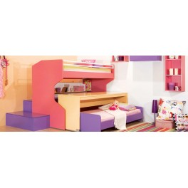 Four Angels Kids Room Kinetic Bunk Bed & Steps