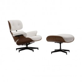 Eames Style Lounge Chair & Ottoman