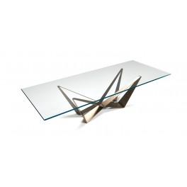 Skorpio Glass Table