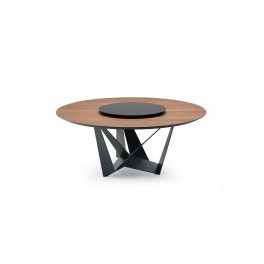 Skorpio Wood Round Table