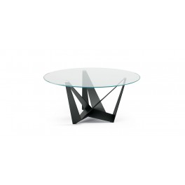 Skorpio Glass Round Table