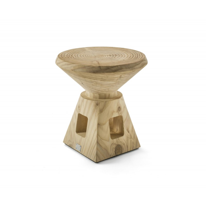 Etrurio Low Stool & Side Table