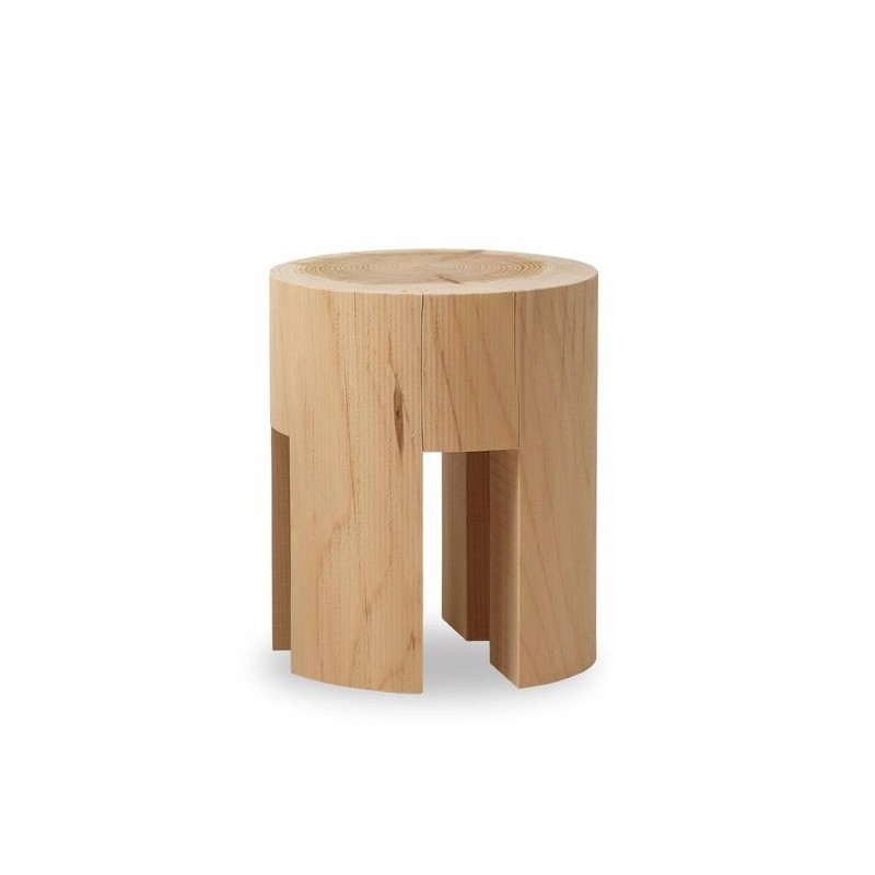 Woody Low Stool & Side Table